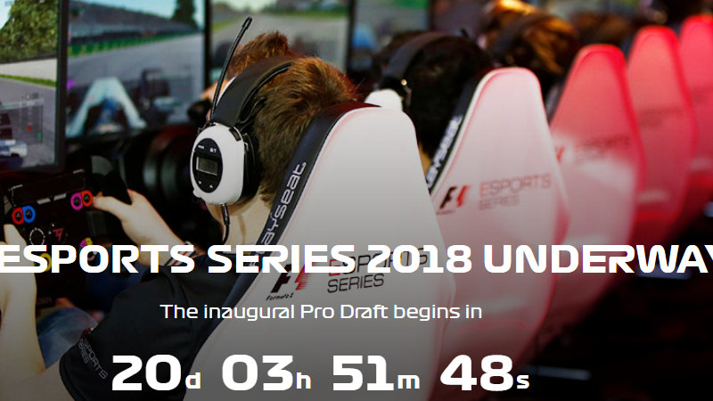 F1 Esports Pro Draft Qualifiers Confirmed