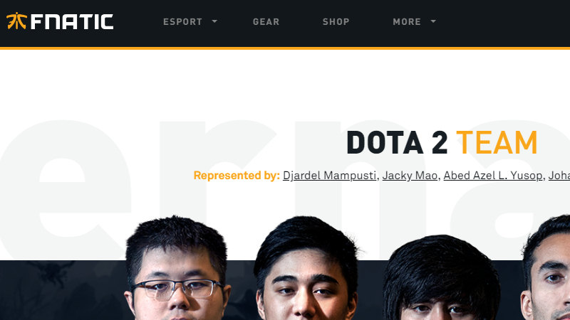 Fnatics DOTA Team Secures Attendance at The Internationals 2018